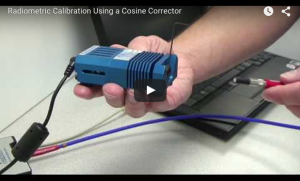 Radiometric Calibration Using a Cosine Corrector